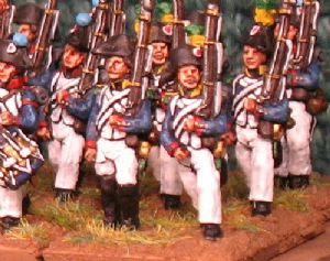 15mm, Napoleonic French Line Infantry 1798-1806 AB 24 figures